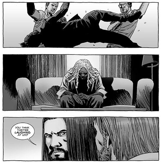 The Walking Dead Comic #119 Sneak Peak