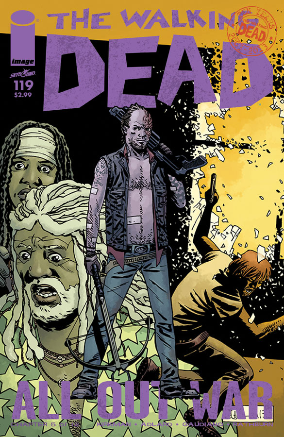 the walking dead 119 - The Walking Dead Comic #119 Sneak Peek