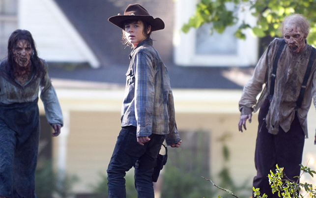 the walking dead carl grimes - New Photo Of Carl Grimes From Walking Dead Season 4 Return