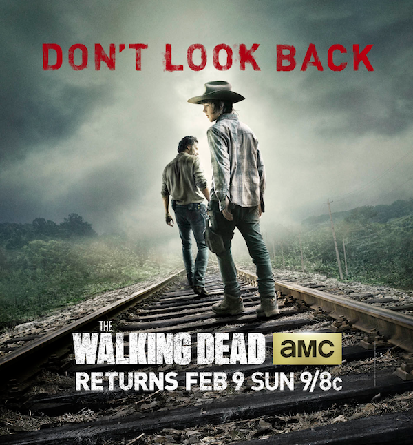 The Walking Dead Mid-Season Poster