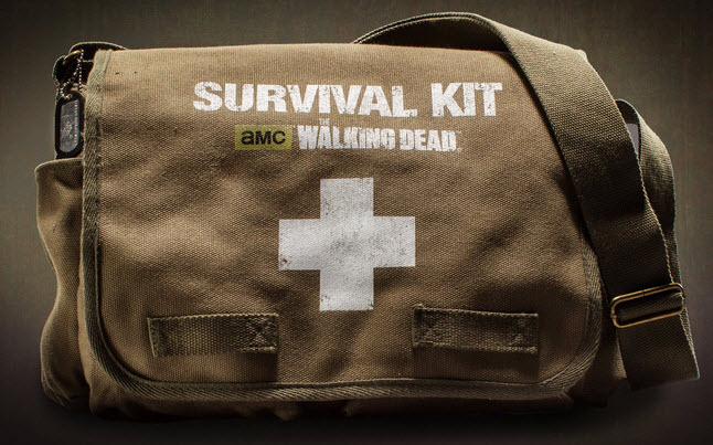 walking dead survival kit - Pre-Order The Official Walking Dead Survival Kit