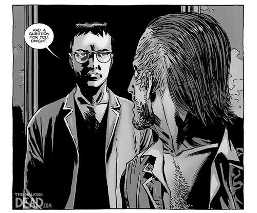 122preview - The Walking Dead Comic 122 Coming Wednesday