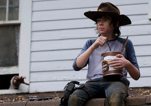 Carl Grimes pudding