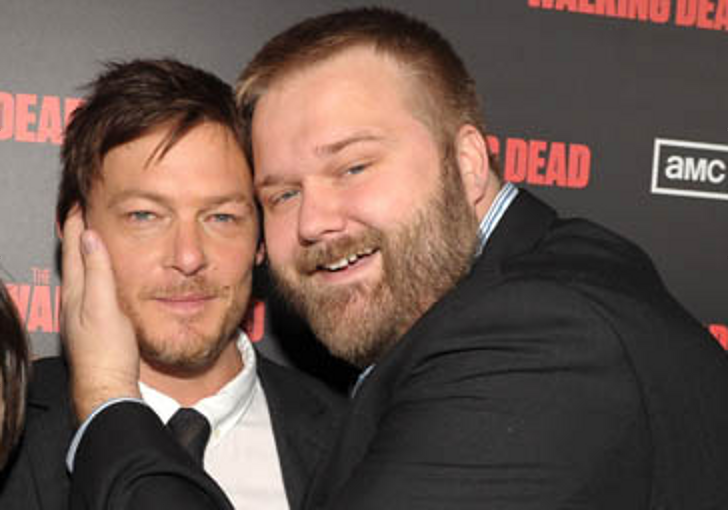 Norman Reedus and Robert Kirkman
