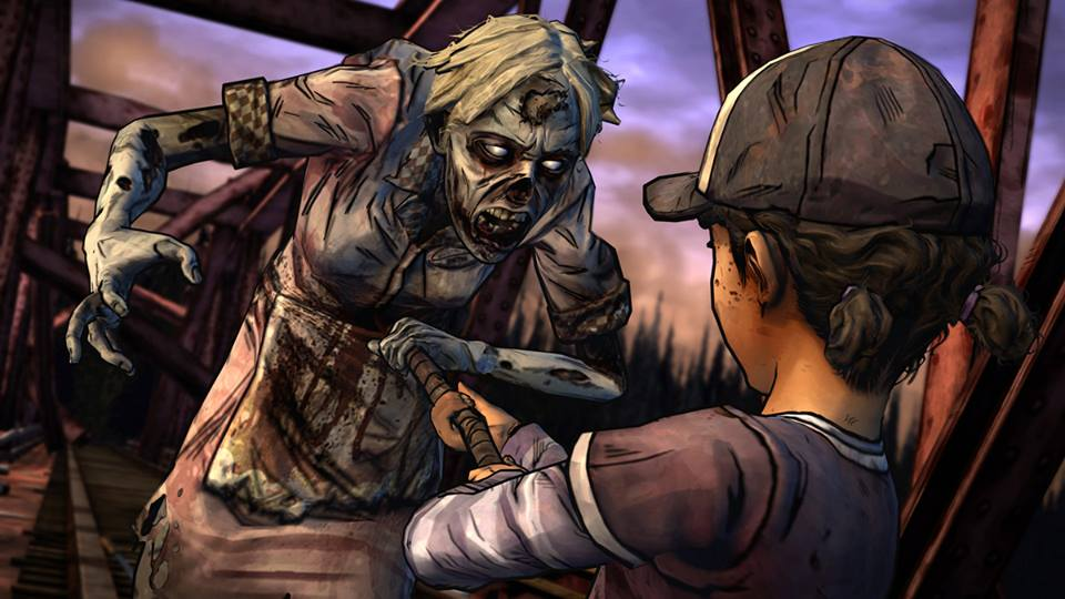 Walking Dead Game Season 2 Walker Fight