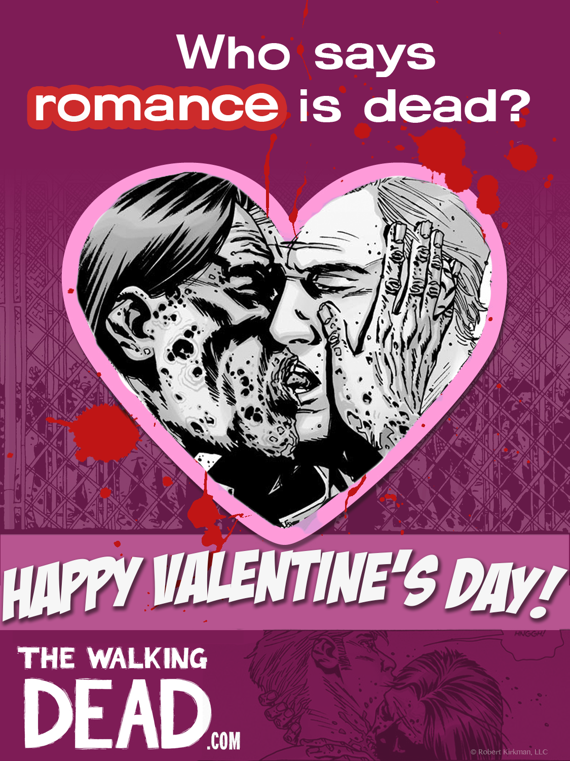 Walking Dead Valentine 1