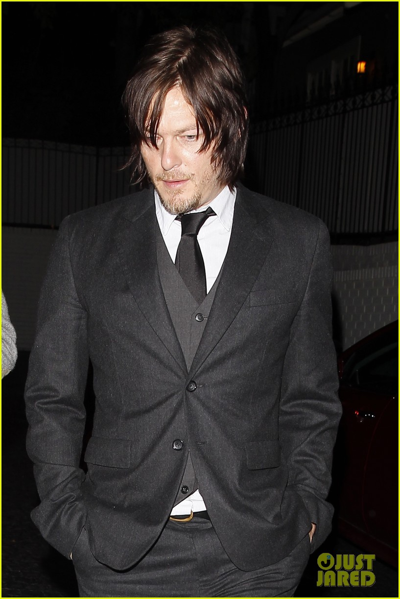 Norman Reedus at the Premiere Party