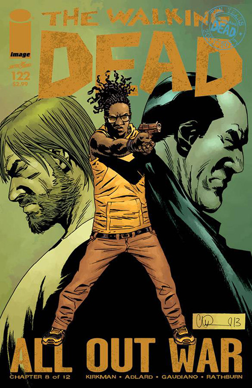 The Walking Dead 122 Cover