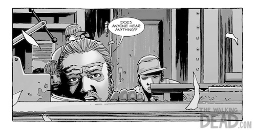 The Walking Dead 121 Preview One