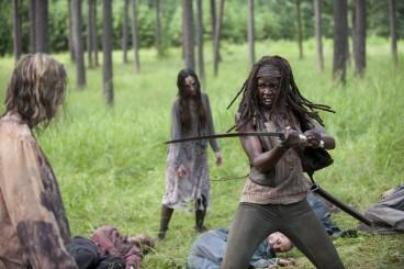 walking dead season 4 episode 9 michonne 2 368x245 - Michonne One of TV Guide's 24 Greatest TV Action Heroes