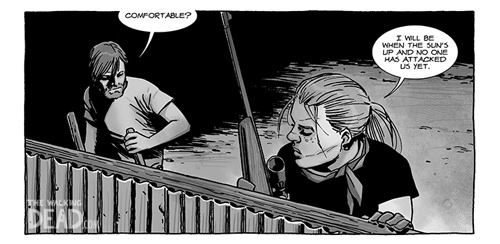 walkingdead 122 preview 3s - The Walking Dead Comic 122 Coming Wednesday