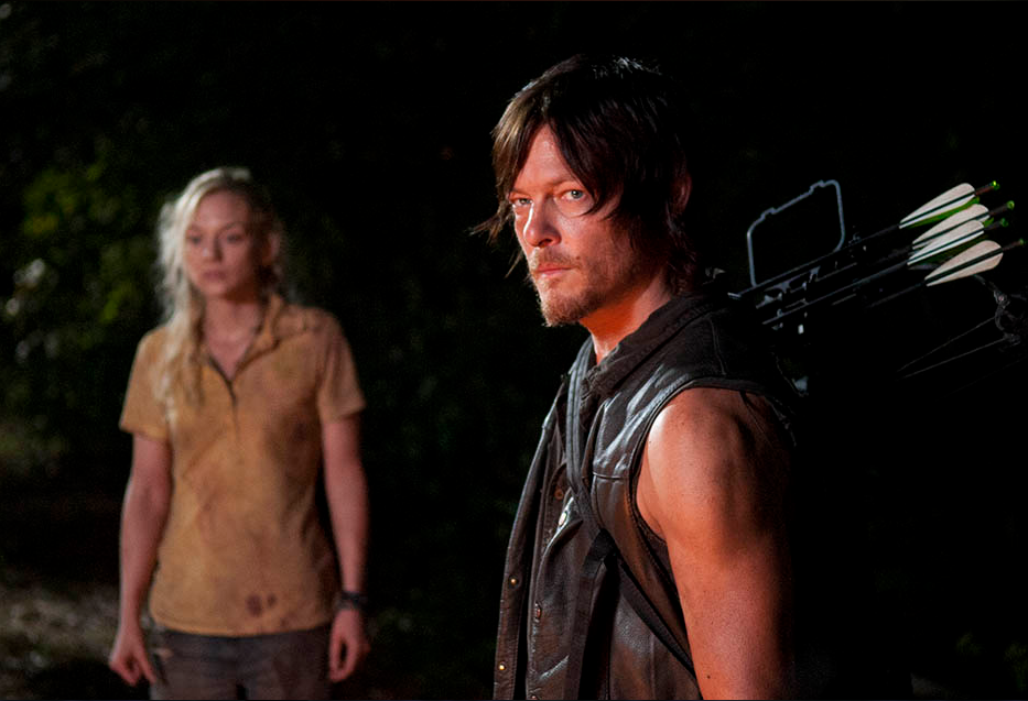 Beth and Daryl The Walking Dead