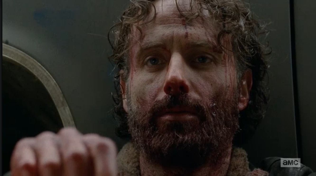 Rick With Bloody Face