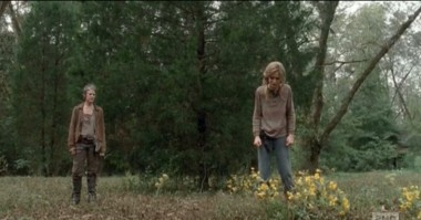 Carol and Lizzie