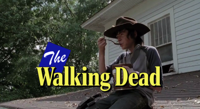 The Walking Dead 1980s Style