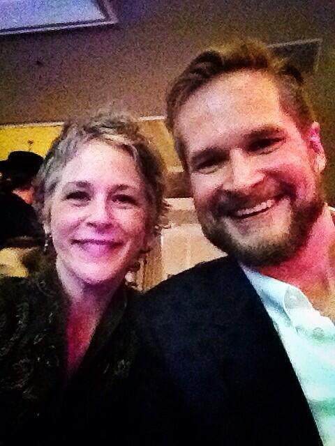 Melissa McBride and Bryan Fuller