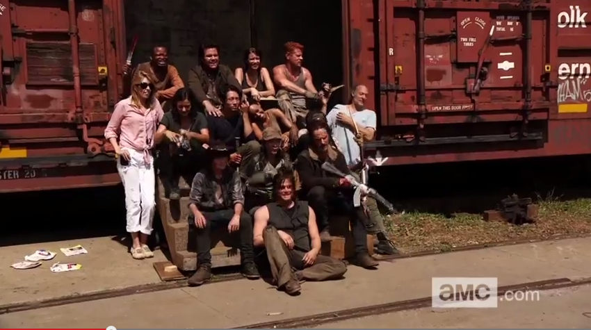 castpic501 - Season Five Promo Promises More Action