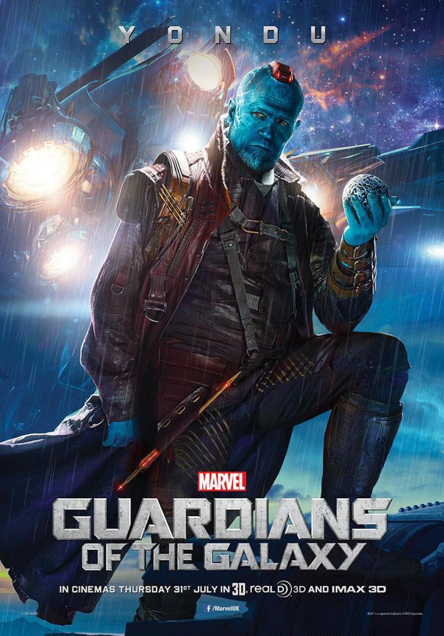 Guardians Poster Rooker