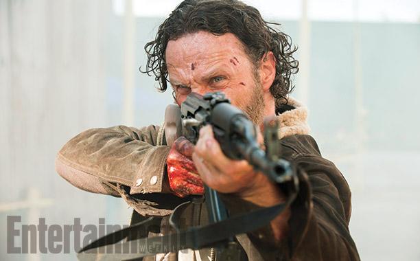 Rick Grimes Shooting