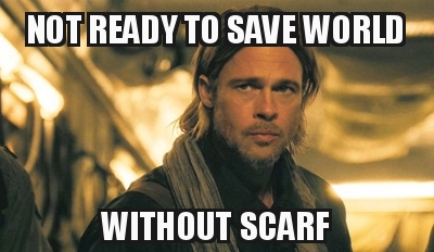 24221411161578 - World War Z - Not Ready to Save World Without Scarf