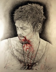 bloodymouth 192x245 - Norman Reedus Thanks Fans With Fan-Art Book
