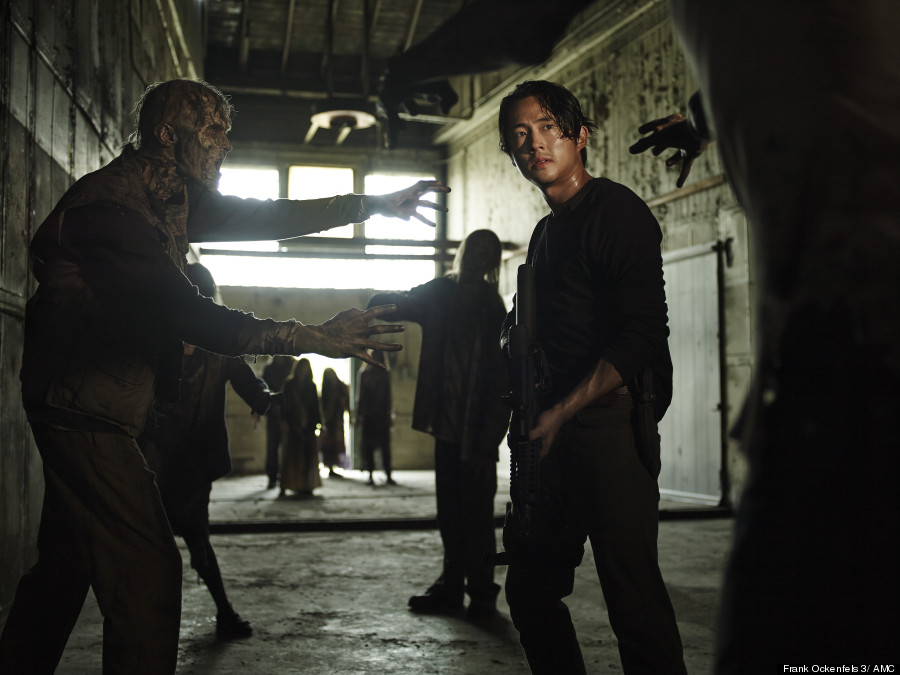 o GLEN 900 - AMC Opens The Walking Dead Season Five Promo Pic Floodgates