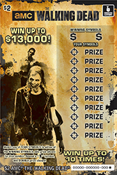 ore - Oregon Lottery Scratches The Walking Dead