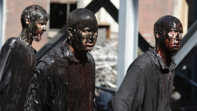 Z Nation Oily Fracking Zombies