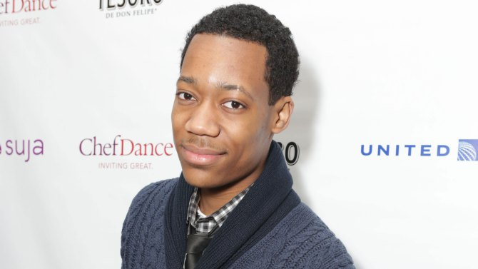 tyler james williams the walking dead - Tyler James Williams Heads to Criminal Minds Spinoff