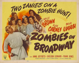 The original Zombies on Broadway