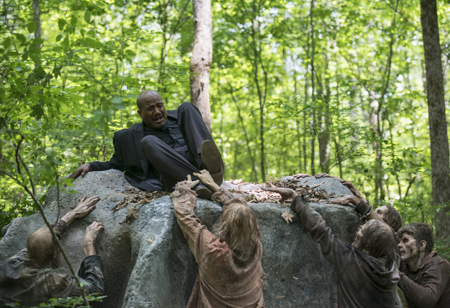 Father Gabriel Menaced by Walkers