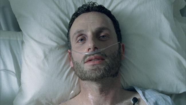 wd1 shot1l - Robert Kirkman Says The Walking Dead is Not, Repeat, is Not Just Rick's Coma Dream