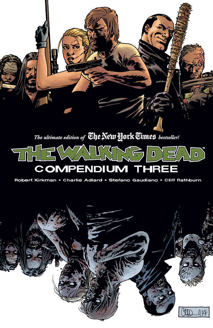 TWD Comp 3 cover mock - Skybound Announces Third Walking Dead Compendium Coming in October