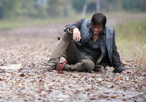 The Walking Dead ALone Sad Daryl - The Walking Dead Fails to Take Home Any People's Choice Awards