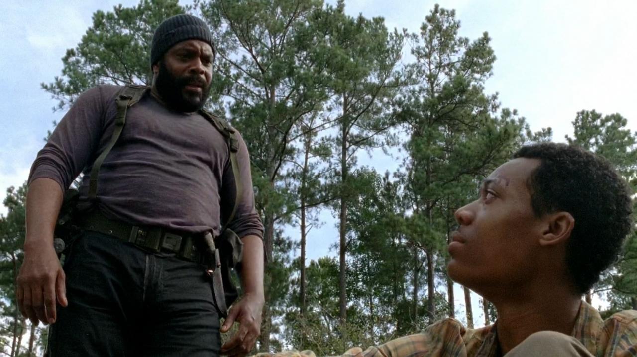 black highlander - The Walking Dead Producer Dismisses 'Black Highlander' Theory (Spoilers)