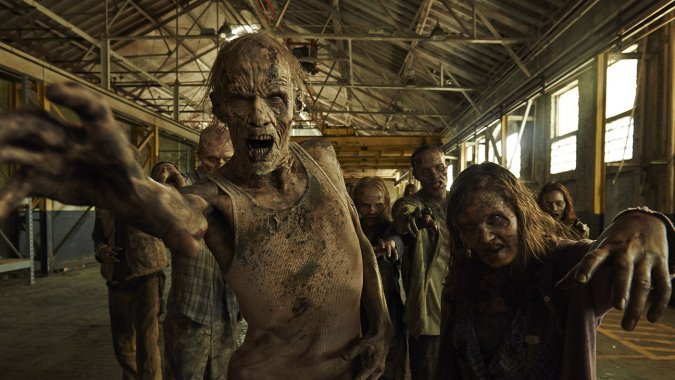 the walking dead zombies1 - The Walking Dead Gives AMC Big Money Boost In 2014
