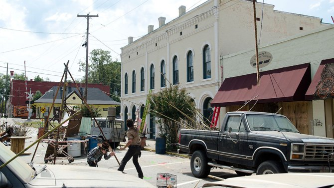 twdt - Part Of Walking Dead Town For Sale On eBay