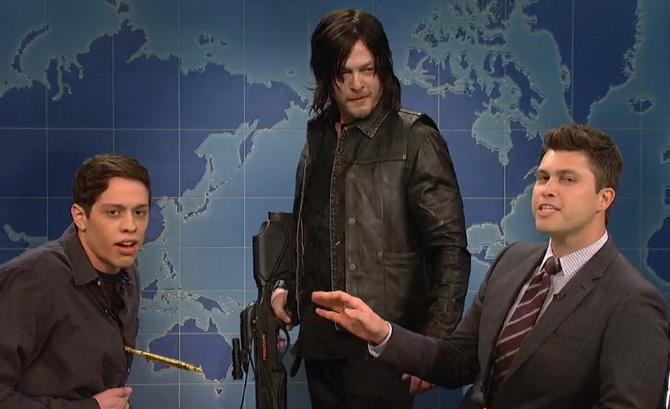Norman Reedus SNL - Norman Reedus Makes An SNL Appearance