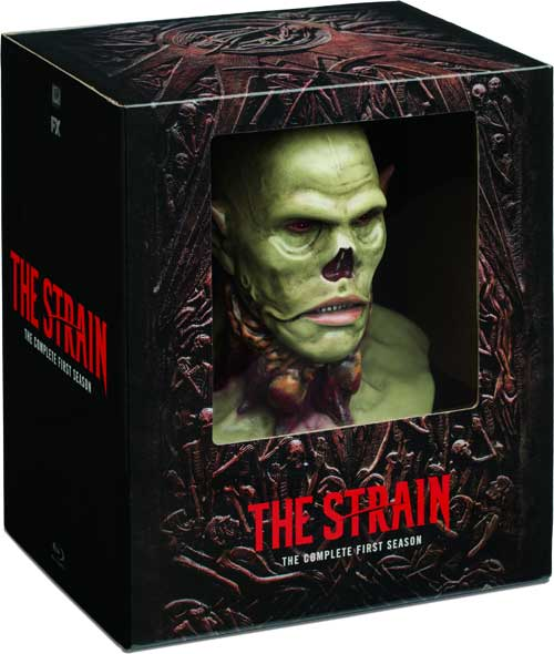 "TheStrain S1 CollEd BLU - ""The Strain Season 1"" Now Includes Giant Head"