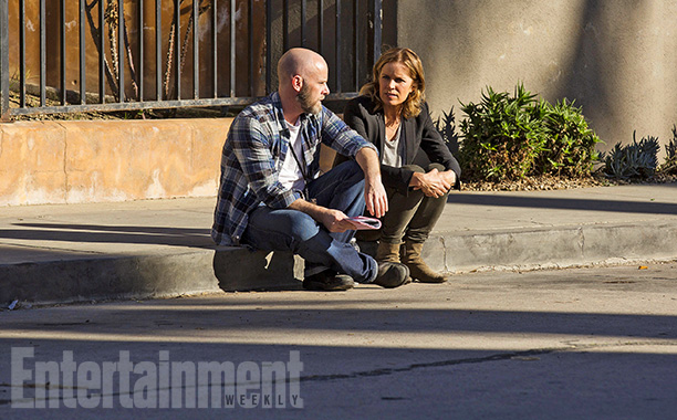 Dave Erickson - New Set Shots From Fear The Walking Dead
