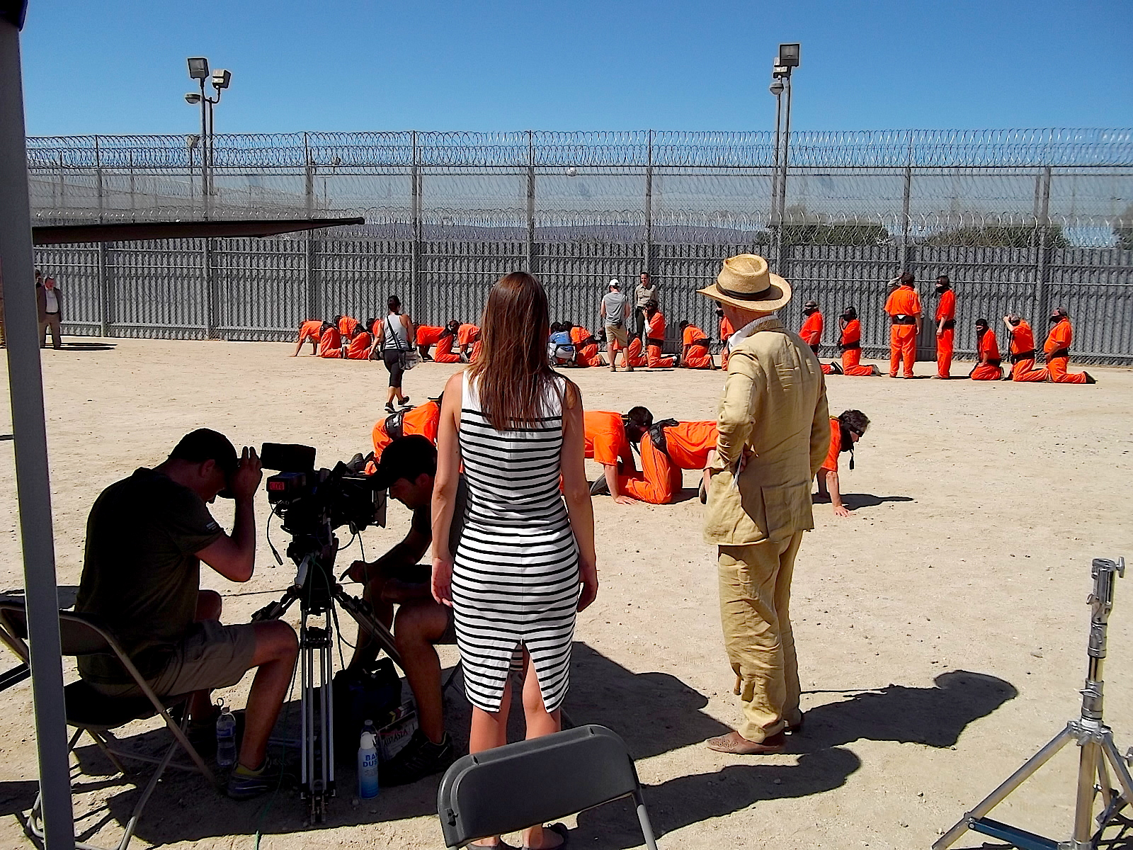 THC3Backstage 20 - The Human Centipede 3 Trailer Released