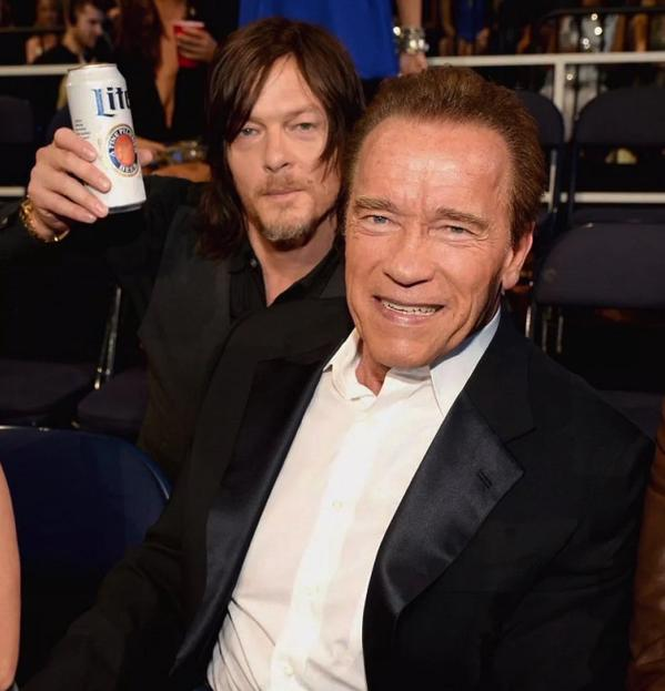 Norman Reedus and Arnold