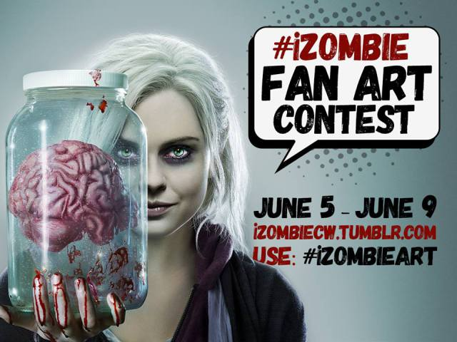 izombiefanart - The CW Announces The iZombie Fan Art Contest
