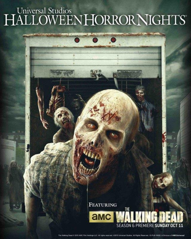 hhn twd - The Walking Dead Return To Universal's Halloween Horror Nights