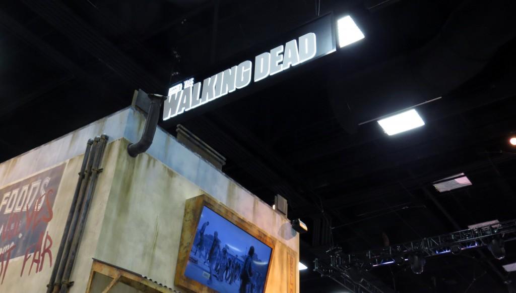 walking dead booth