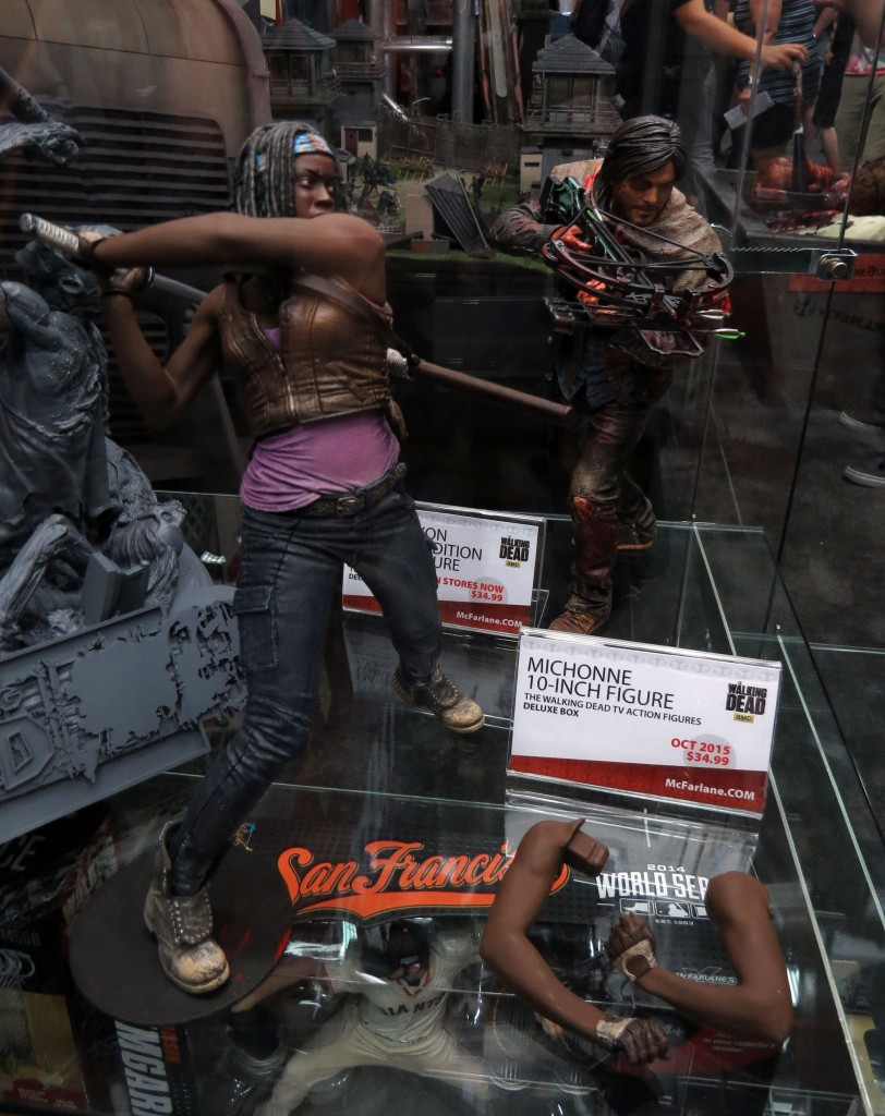 sdcc2015 07 09 mcfarlane toys booth 01 812x1024 - SDCC2015: A Photo Gallery Of McFarlane's Walking Dead Figures