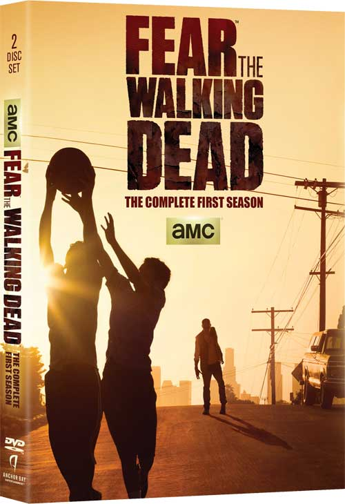 FearTheWalkingDead S1 DVD - Fear The Walking Dead Home Video Plans Already Made