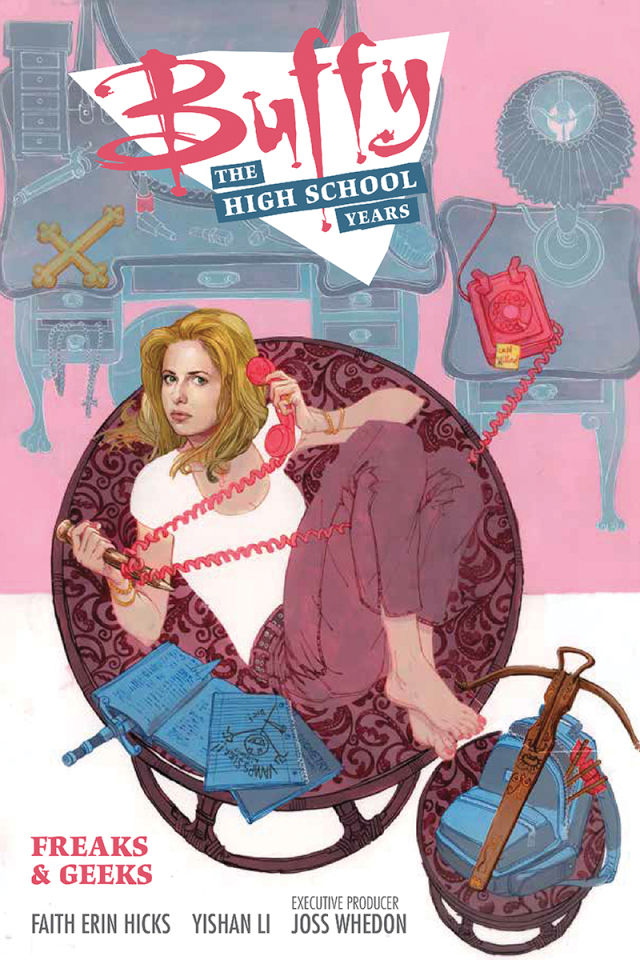 "buffythehighschoolyears - NYCC 2015: Dark Horse Announces ""Buffy: The High School Years"""