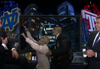 kirk 349x240 - Escaped Zombies Scare Kirk Herbstreit