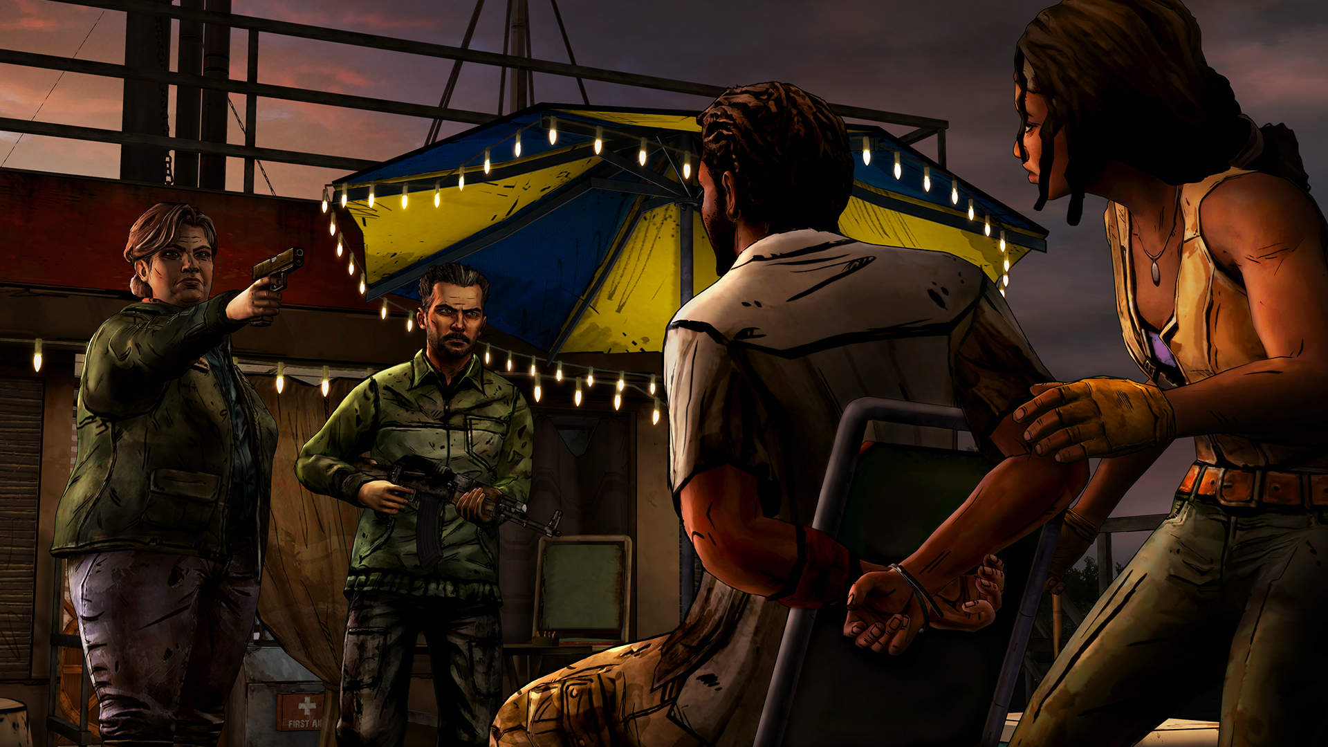 WDM 102 Busted 1920x1080 - New Screens And Trailer From Telltale's Michonne Series